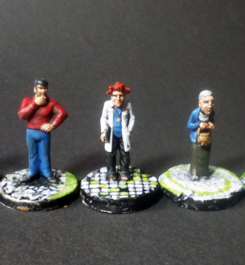 Cthulu-figures